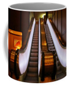 Spooky Escalator At The Brown Palace In Denver Coffee Mug