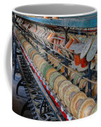 Spools At Lonaconing Silk Mill Coffee Mug