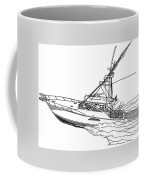Sportfishing Yacht Coffee Mug