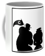 Sports Fans Silhouette Coffee Mug
