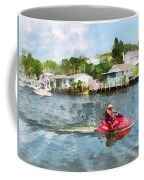Sports - Man On Jet Ski Coffee Mug