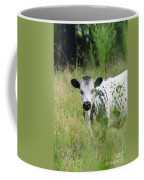 Spotted Cow In The Forest Coffee Mug