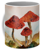 Spotted Mushrooms Coffee Mug