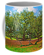 Spreading Giant Oil Coffee Mug