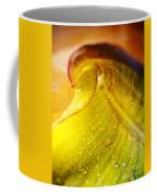 Sprial Leaf Coffee Mug