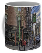 Spring And Mulberry - Street Scene - Nyc Coffee Mug by Madeline Ellis