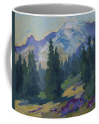 Spring At Mount Rainier Coffee Mug