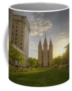 Spring At Temple Square Coffee Mug