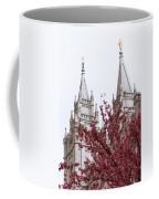 Spring At The Temple Coffee Mug