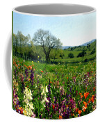 Spring Bouquet At Rusack Vineyards Coffee Mug