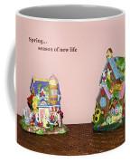 Spring Bunnies Coffee Mug