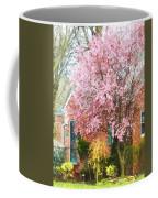 Spring - Cherry Tree By Brick House Coffee Mug