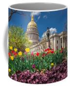 Spring Comes To Wv Capitol Coffee Mug