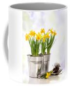 Spring Daffodils Coffee Mug by Amanda Elwell