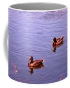 Spring Ducks Coffee Mug