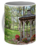 Spring Gazebo Pastel Effect Coffee Mug
