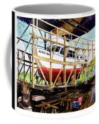 Yacht Glacier Bear Hauled Out In Gig Harbor Coffee Mug