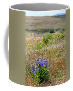 Spring Lupines And Cheatgrass Coffee Mug