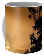 Spring Maple Silhouette Coffee Mug