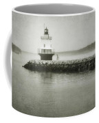 Spring Point Ledge Light Coffee Mug by Joan Carroll