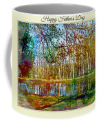 Spring Pond Photoart Father's Day Coffee Mug