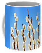 Spring Pussy Willows Coffee Mug