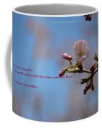 Spring Quote Coffee Mug