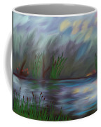 Spring Reed In The Canyon Coffee Mug