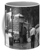 Spring Shower - Rainy Day In New York Coffee Mug