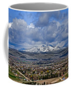 Spring Snow On Squaw Butte Coffee Mug