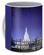Spring Time At The Idaho Falls Temple Coffee Mug