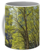 Spring Time In Bryant Park New York Coffee Mug by Angela A Stanton