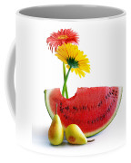 Spring Watermelon Coffee Mug by Carlos Caetano