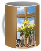 Spring Window Coffee Mug by Amanda Elwell
