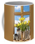 Spring Window Coffee Mug by Amanda Elwell