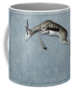 Springbok Coffee Mug by James W Johnson