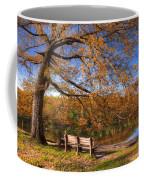 Springtime Fire Coffee Mug by Debra and Dave Vanderlaan