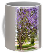 Springtime Jacaranda Tree Coffee Mug