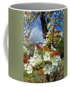 Springtime Pear Blossoms - Hello Spring Coffee Mug