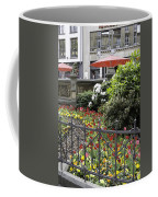 Springtime Tulips In Cologne Germany Coffee Mug