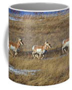 Sprinting Pronghorn Coffee Mug