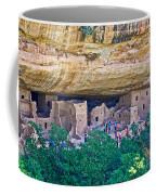 Spruce Tree House On Chapin Mesa In Mesa Verde National Park-colorado  Coffee Mug