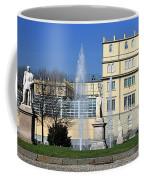 Square And Statues Coffee Mug