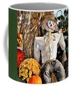 Square Scarecrow Coffee Mug