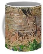 Square Tower House On Chapin Mesa Top Loop Road In Mesa Verde National Park-colorado Coffee Mug
