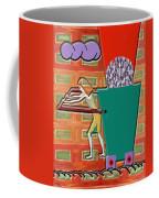 Square Wheels Make Life More Difficult  Coffee Mug