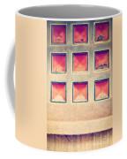 Squares In Wall Coffee Mug