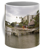 Squid Lips Restaurant  At The Eau Gallie Causeway Over The India Coffee Mug