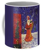 Squiggle Christmas Coffee Mug