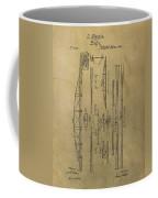 Squire Whipple Truss Bridge Patent Coffee Mug